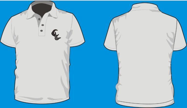 Desain Baju Volly Polos