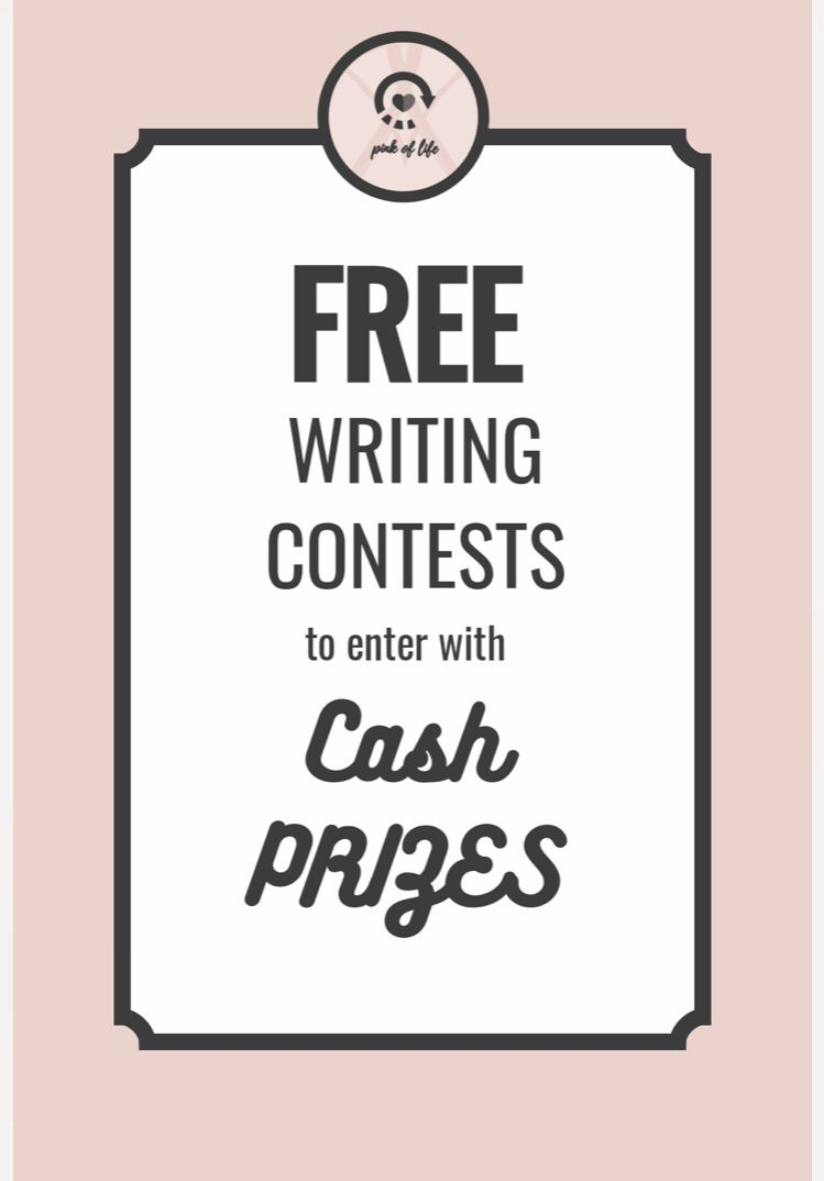 Free Writing Competitions to Enter in 2019 (with Cash Prizes
