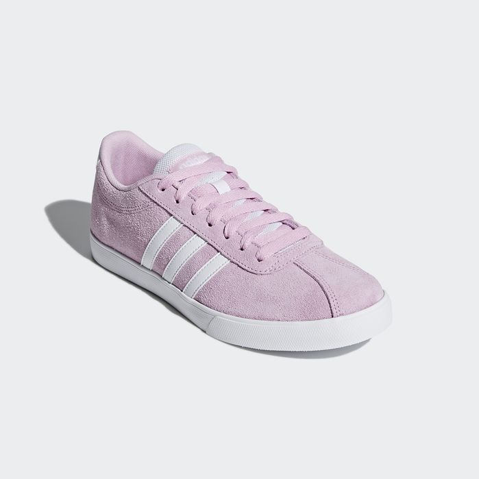 c83ad2d68a Courtset Shoes Pink Womens | Life in PINK | Adidas courtset, Shoes ...