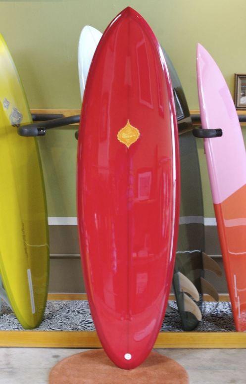 Michel Junod's Pumpkin Seed - beautiful surf board