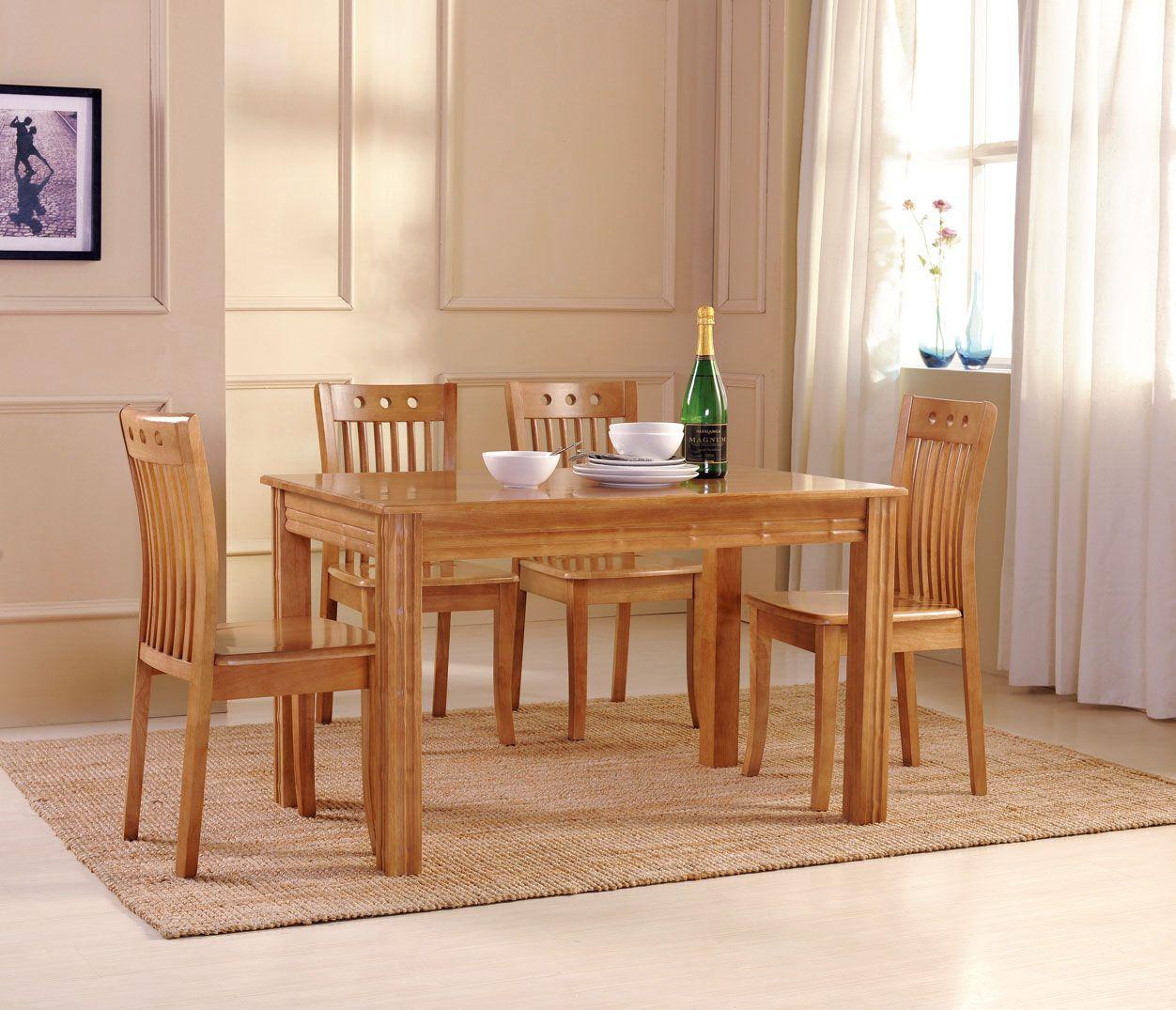 Holz Esstisch Set (mit Bildern) Moderne esszimmer tische