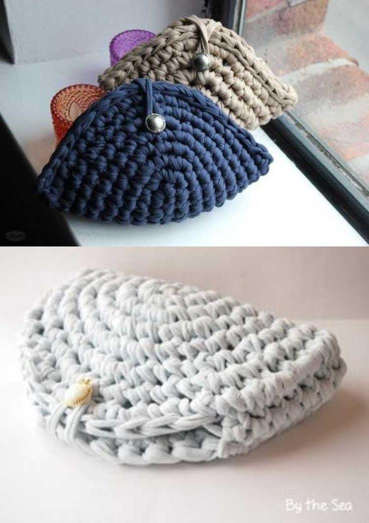 Crochê criativo - 30 Ideias de porta-moedas de crochê - #criativo #Crochê #de #Ideias #portamoedas #purse