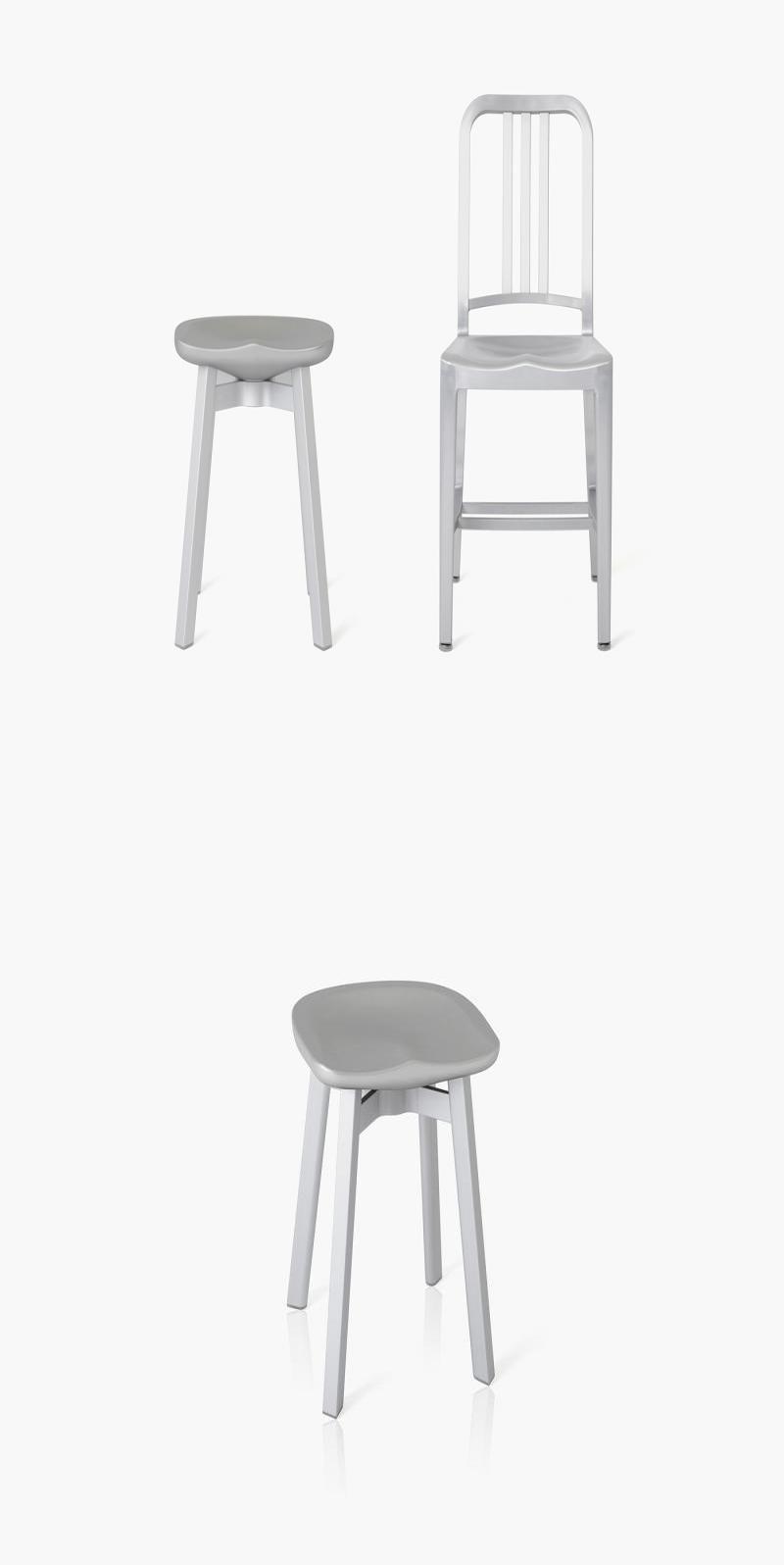 Aluminium Design Hocker Aluminium Design Hocker Dekoration