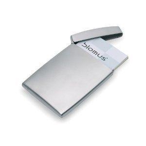 Blomus Deluxe Stainless Steel Business Card Holder Business Card Case Business Card Holders Card Holder