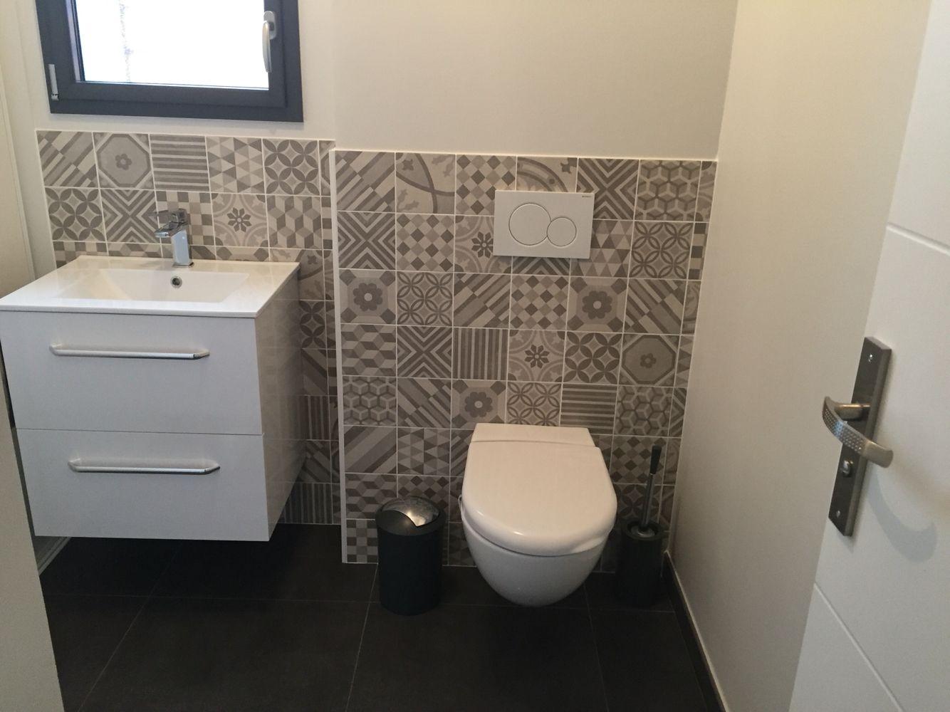 toilette carreaux ciment leroy merlin idee architecte. Black Bedroom Furniture Sets. Home Design Ideas