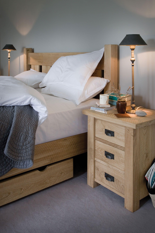 The Granger S Oak Bed In 2020 Oak Bedroom Furniture Bedroom Furniture Uk Oak Bedroom
