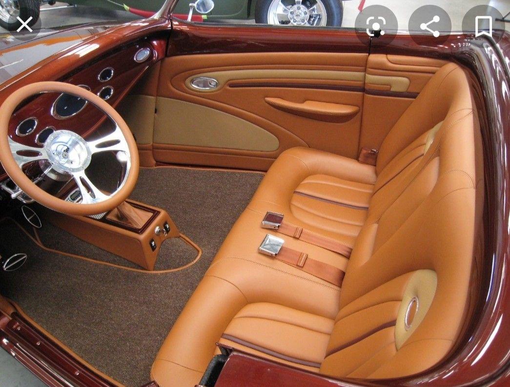 Pin By Kerick Montgomery On Car Interior In 2020 Custom Car Interior Car Upholstery Street Rod Interior