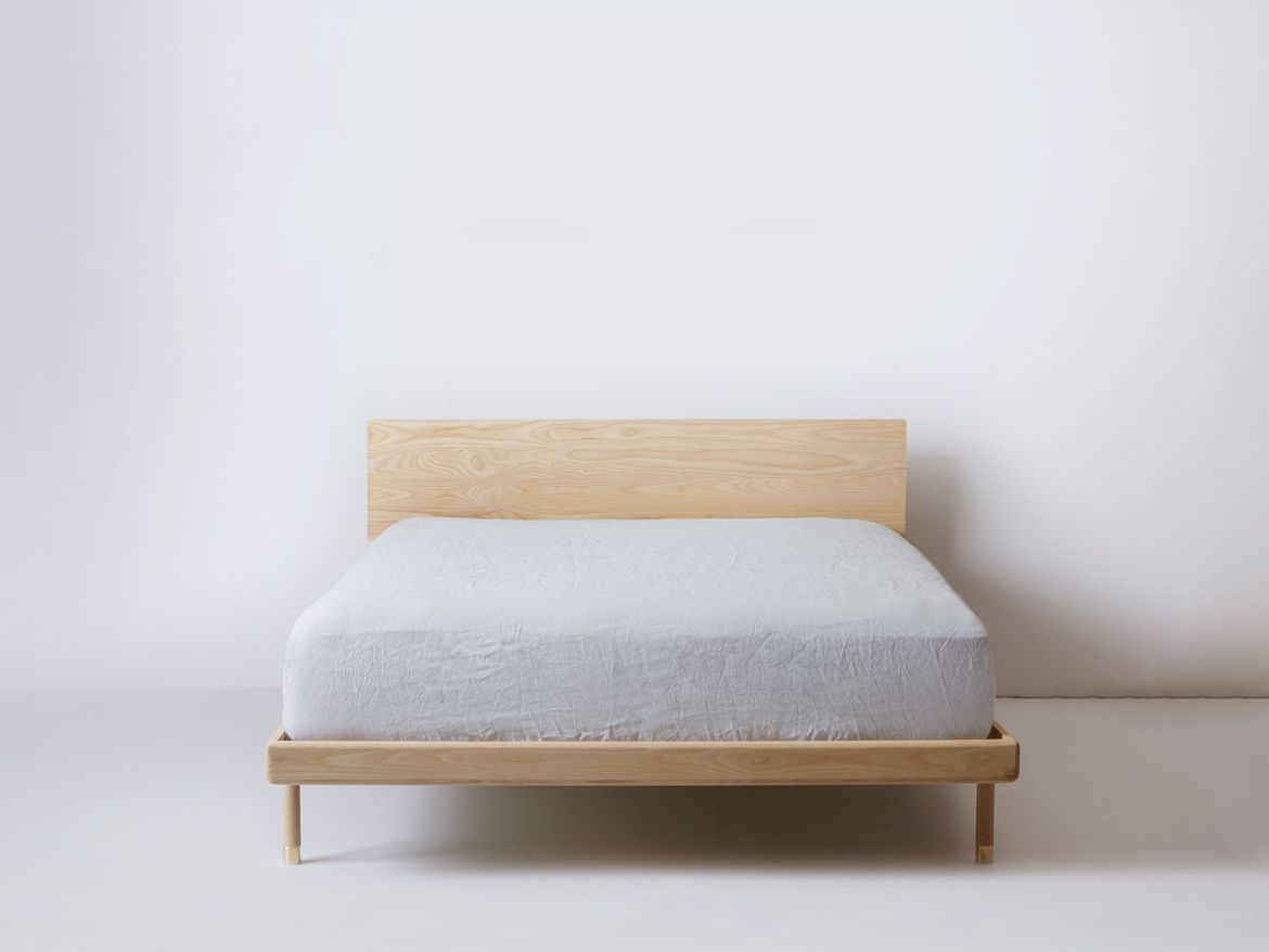 simple bed ash bed frames woodworking and ash