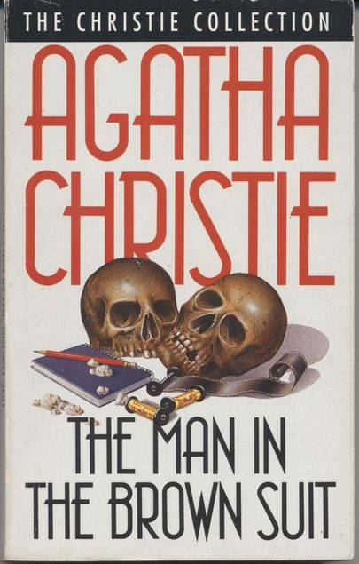 Click to read more about Covers: The Man in the Brown Suit by Agatha Christie.  LibraryThing is a cataloging and social networking site for booklovers