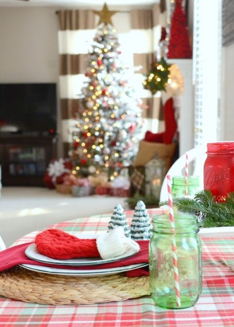 merry and bright christmas home tour - Merry And Bright Christmas Decorations