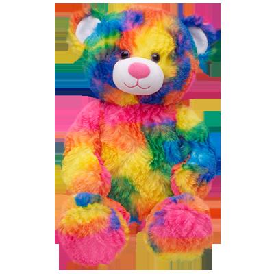 17 in. Tropicolor Teddy - Build-A-Bear Workshop US | Rainbow teddy bear,  Teddy bear, Cute teddy bears