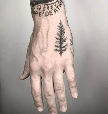 تاتو يد بسيط و ناعم مؤقت برسومات و اجمل صور تاتو حديثة عصرية Tribal Hand Tattoos Skeleton Hand Tattoo Hand Tattoos