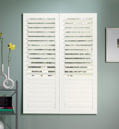 Eurovue Shutters Love That You Can Choose To Close The Bottom And Open The Top Or Vice Versa Family Room Decorating Shutters Custom Shutters
