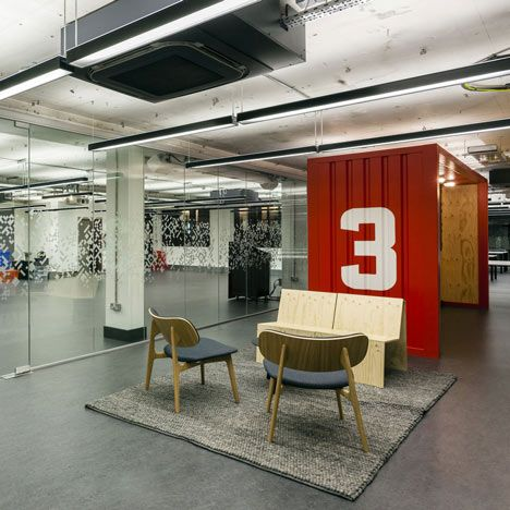 Google Will Run This Shared Workplace For Startup Technology Companies That Interior  Designers Jump Studios Have Just Completed In The Area Nicknamed ...