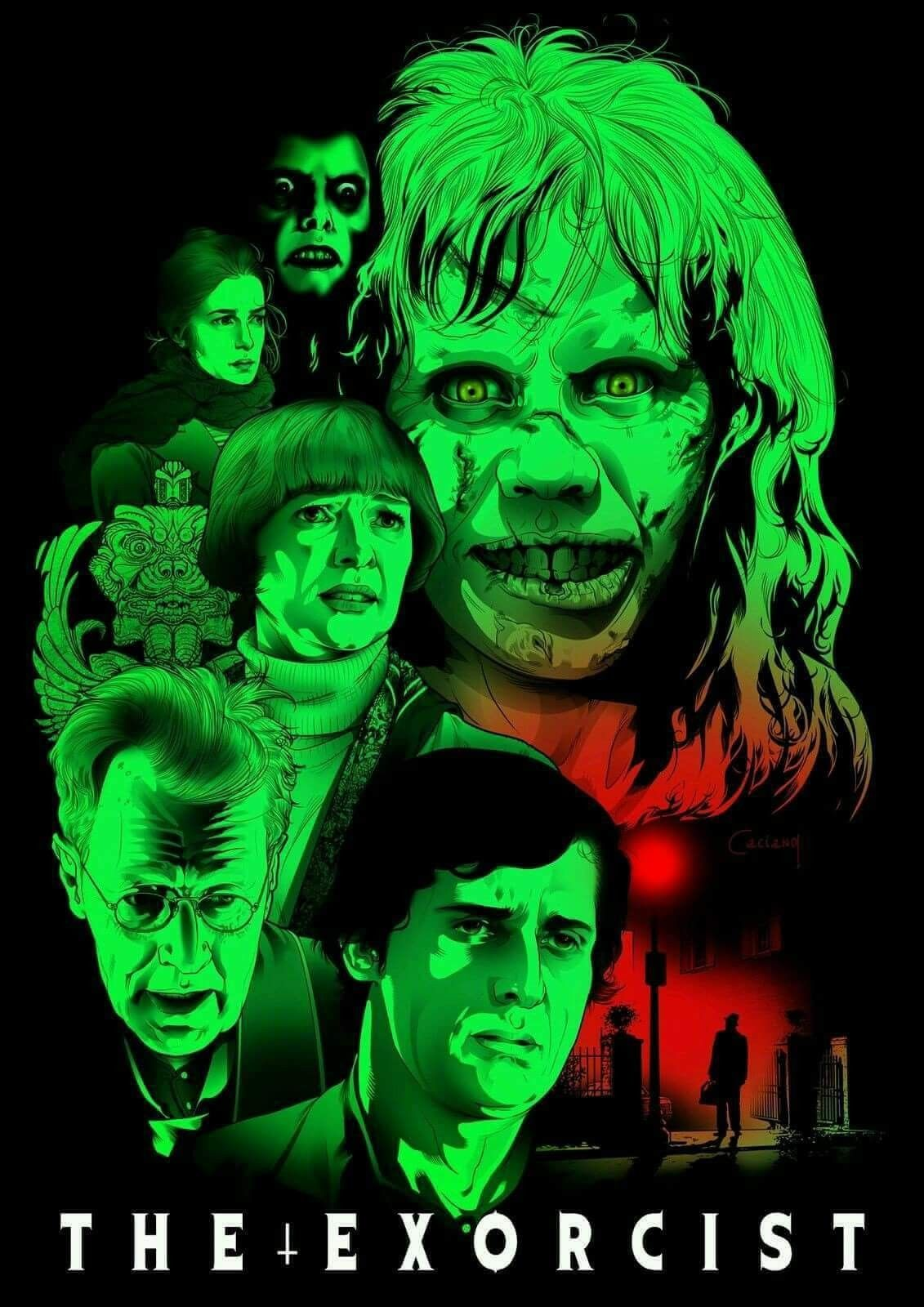 The Exorcist Movie Art Silk Poster 24x36inch