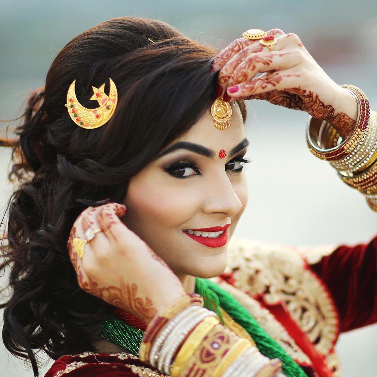 beautiful #nepali #bride #photography #studiokusal | bride