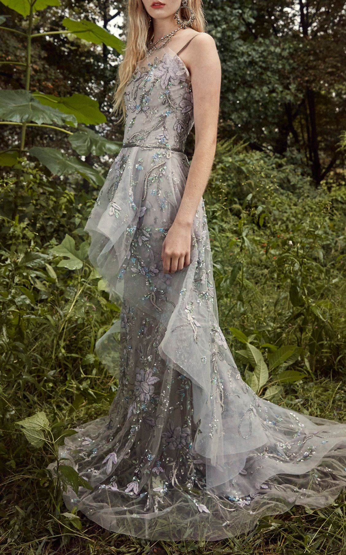 d606a6bd16 Sweetheart Tulle Gown by Marchesa SS19   M'O + Marchesa in 2019 ...