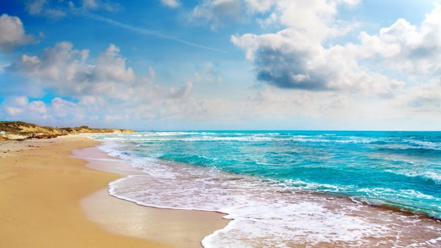 Sun Beach And Sea Free Download Hd Wallpapers Ocean Vacations Beach Beach Pictures Poses