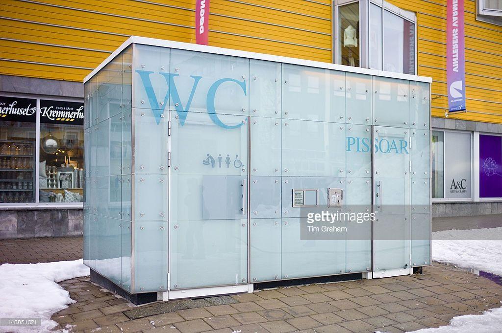 Futuristic design Public Convenience toilet in Tromso ...