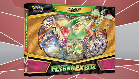 Flygon-EX Box Card Game TCG