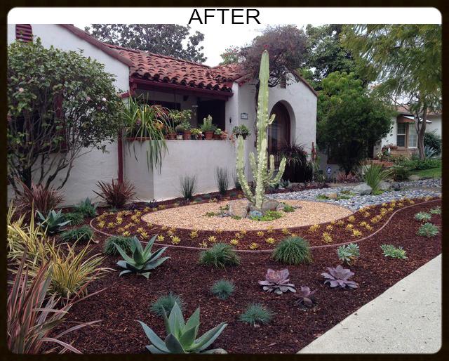 Flores Landscaping   Los Angeles, CA, United States. AFTER   Desert  Landscape Design