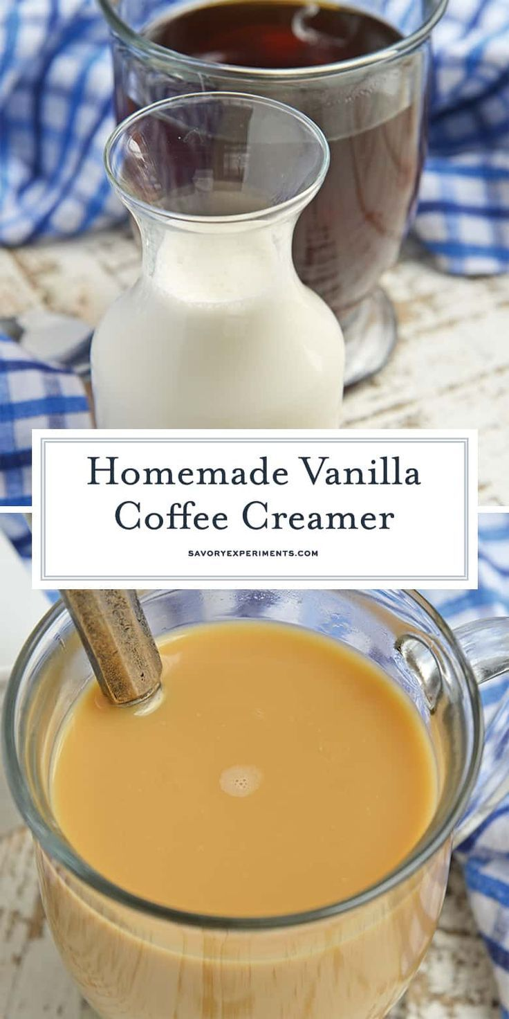 If you've ever wondered how to make coffee creamer, this