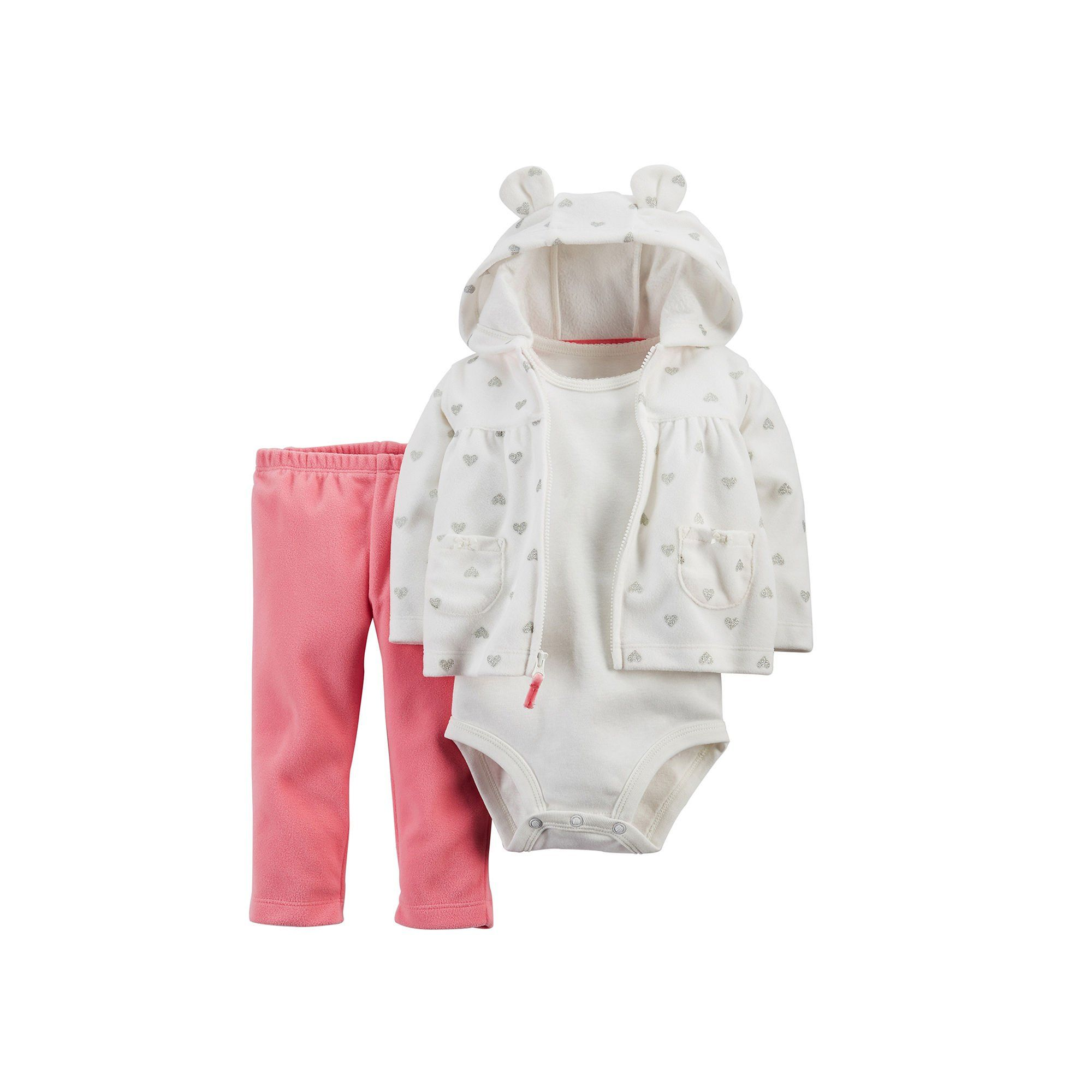 Carters Baby Girls3piece Cardigan Set 18months Details