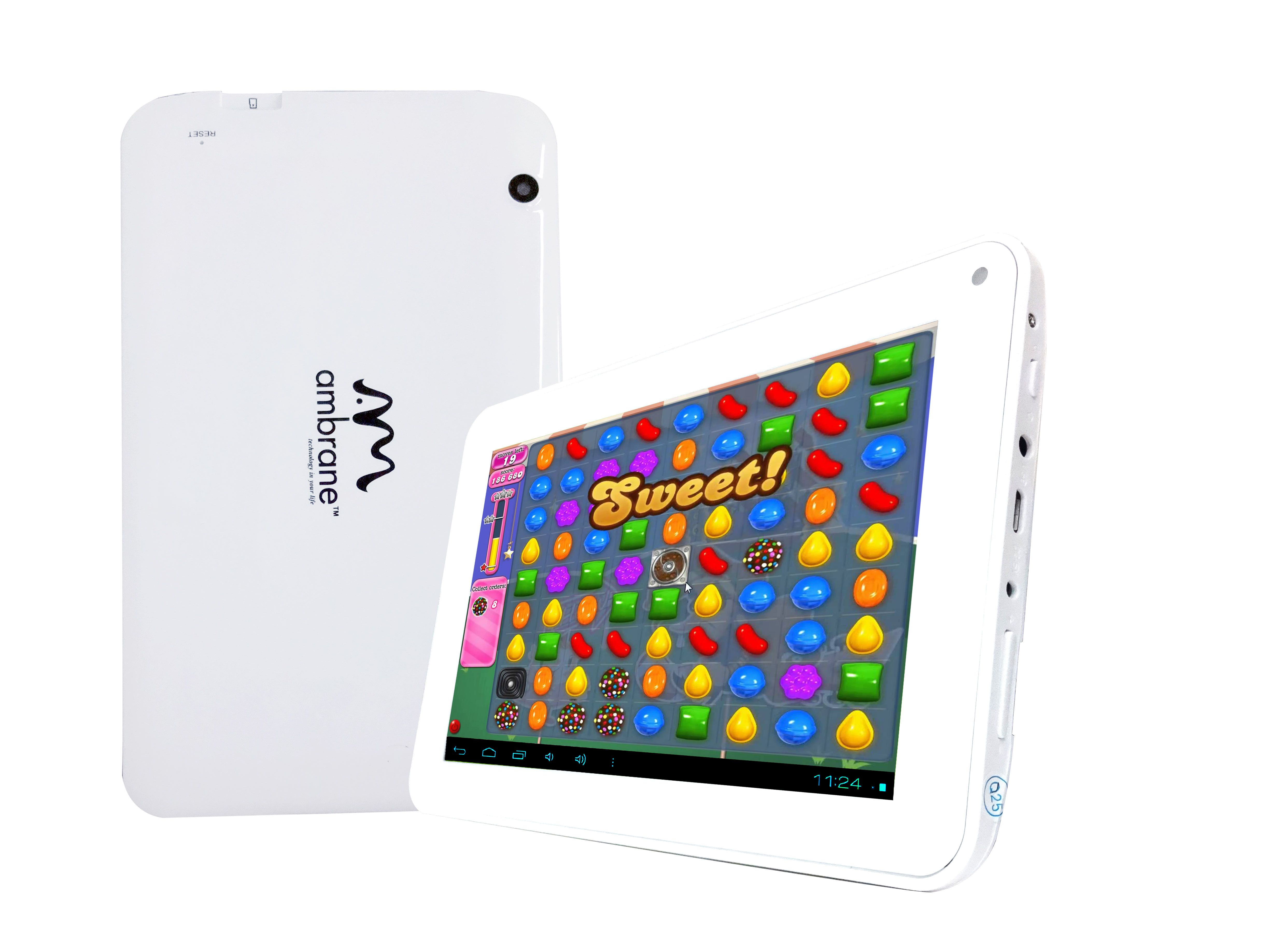 The Ambrane A707 is a budgetspec Dual Core tablet with a