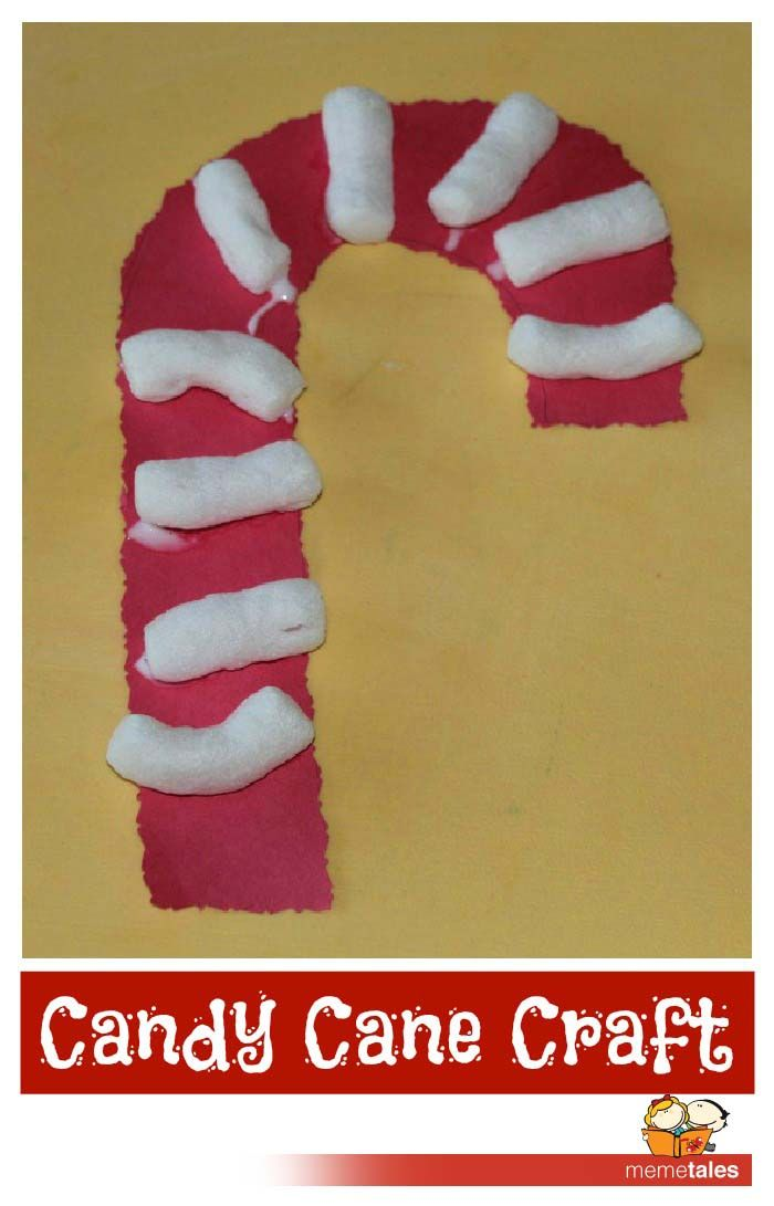 Easy candy cane kids craft christmas christmas for for Easy candy cane crafts
