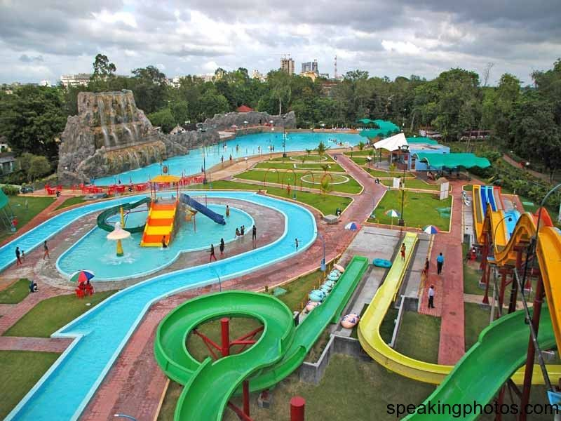 nicco park is an amusement park in india located in salt lake city kolkata the park was created to attract tourists to the state by provi