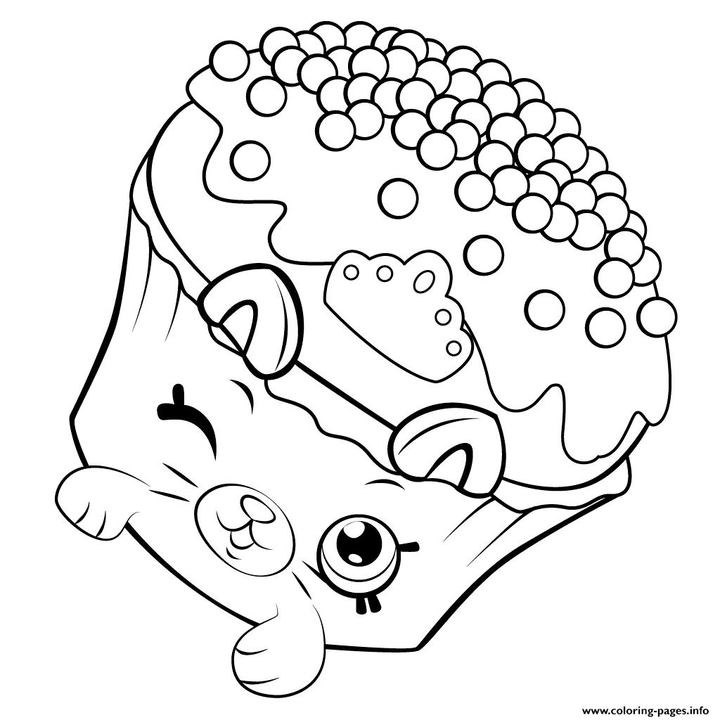 Print Pe Ins Cupcake Shopkins Season 5 Coloring Pages Shopkins