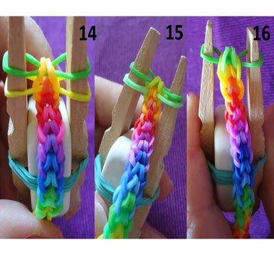 Pulseras de 3 elasticos
