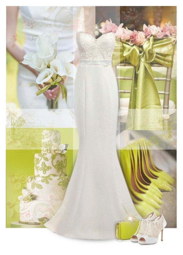 Wedding in Chartreuse Spring\