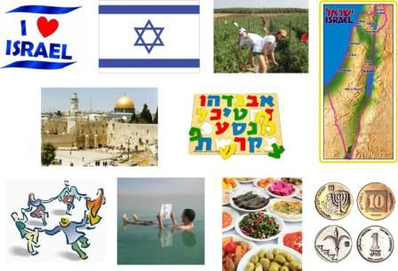 Introduce children to Israel lesson