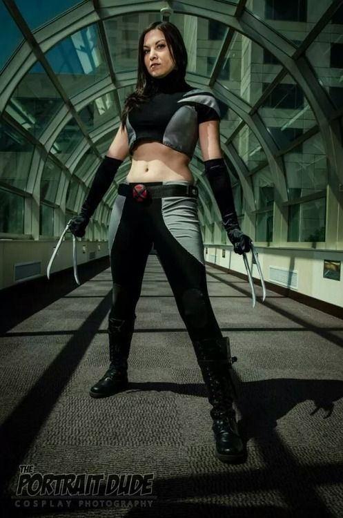 X 23 Marvel Cosplay