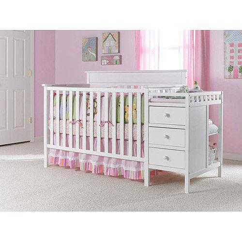 Graco   Lauren Crib Nu0027 Changer, White: Nursery Furniture : Walmart.com