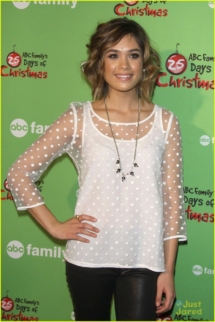nicole anderson: 'ravenswood' cast at abc family's winter