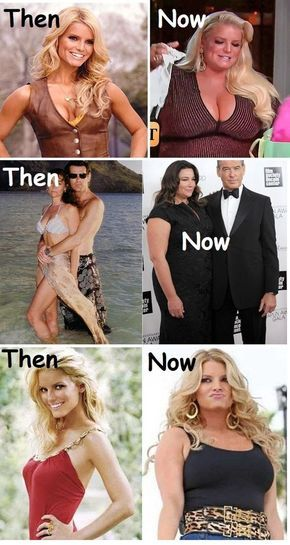 Celebrities Then And Now Who Gone Fat