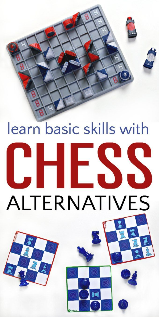 Learn Basic Chess Skills with these Two Chess Alternative