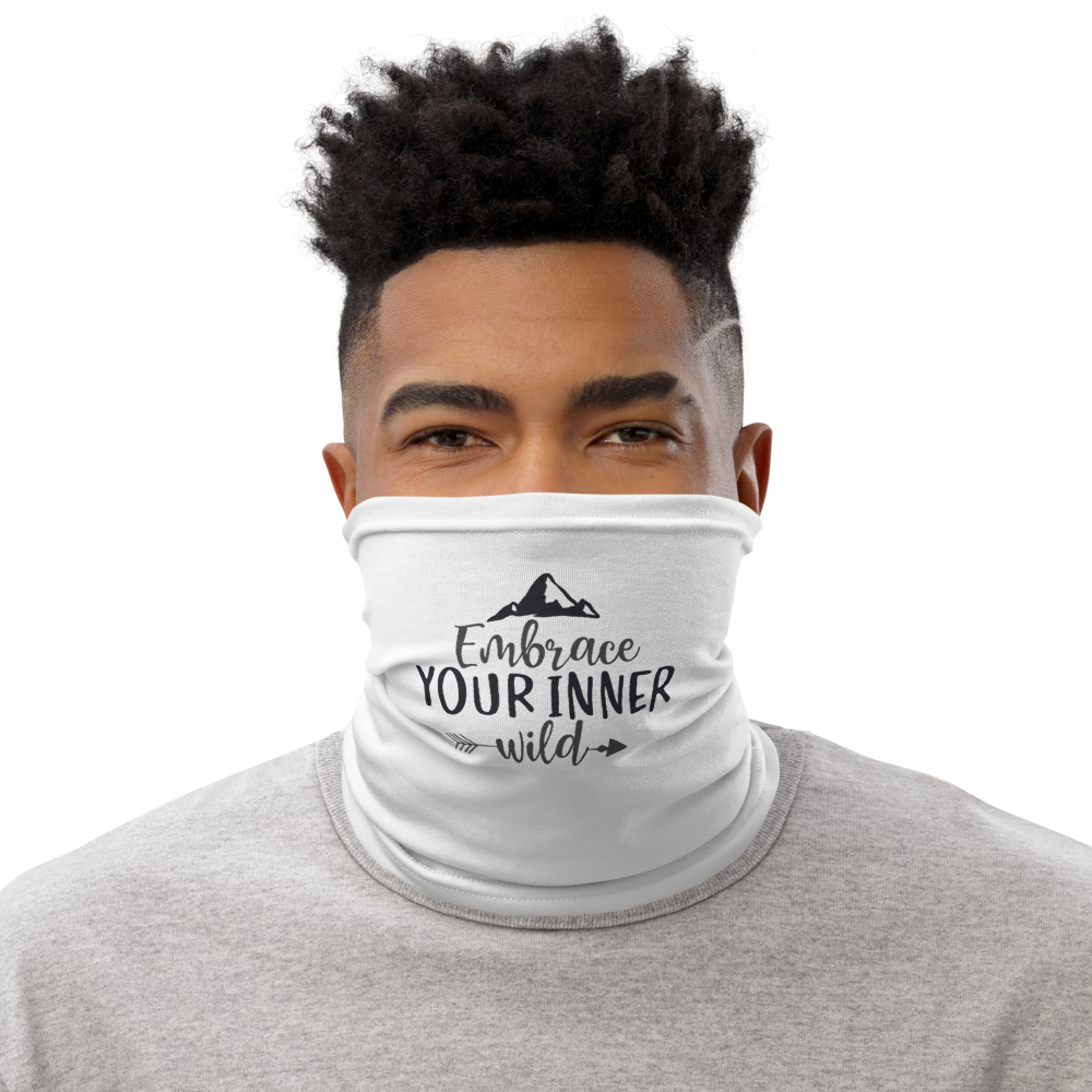 This neck gaiter is a versatile accessory that can be used as a face covering, headband, bandana, wristband, and neck warmer. Upgrade your accessory game and find a matching face shield for each of your outfits. • 95% polyester, 5% elastane (fabric composition may vary by 1%) • Fabric weight: 6.19 oz/yd² (210 g/m²) • Breathable fabric • Washable and reusable • Four-way stretch fabric that stretches and recovers on the cross and lengthwise grains • One size • Printed on one side, reverse side is