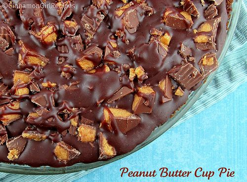 Peanut Butter Cup Pie 3