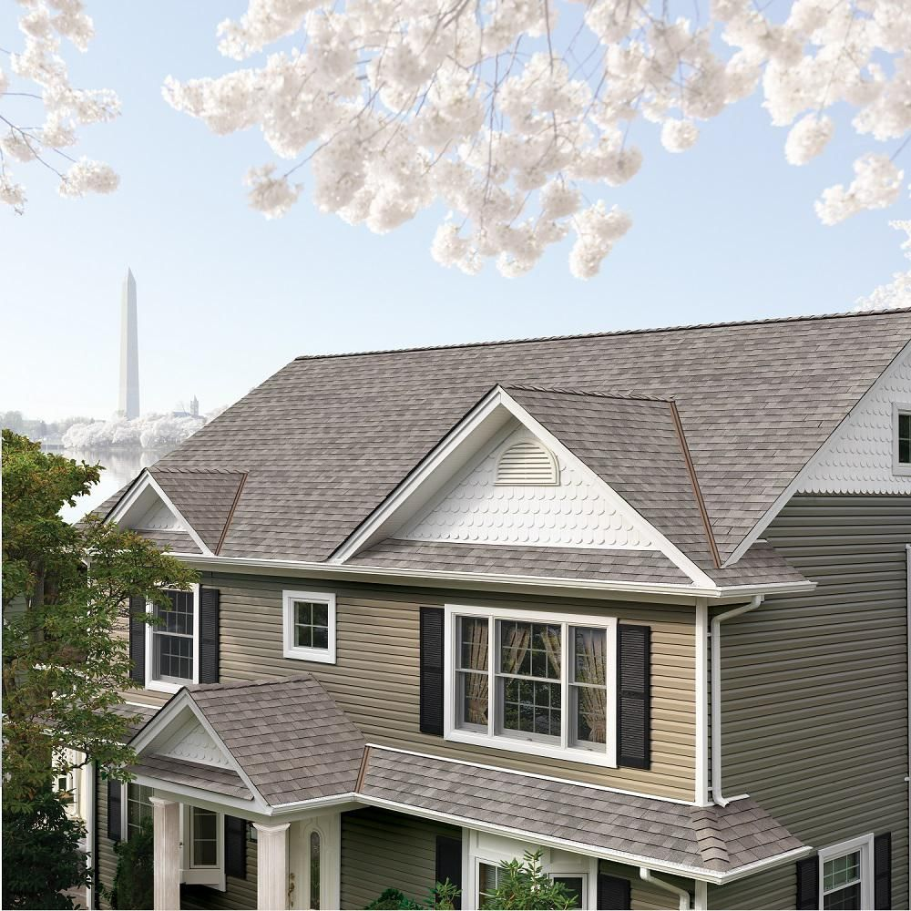 Best Great Color Selection Gaf Timberline Hd Fox Hollow Grey 640 x 480