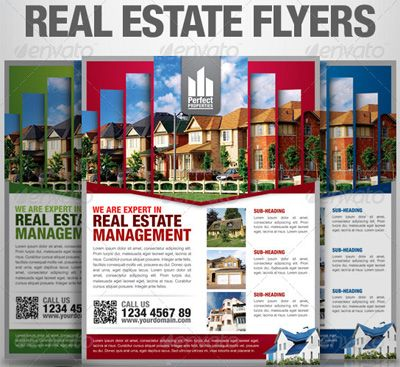 Real Estate Flyer Templates For Marketing Campaigns  Social