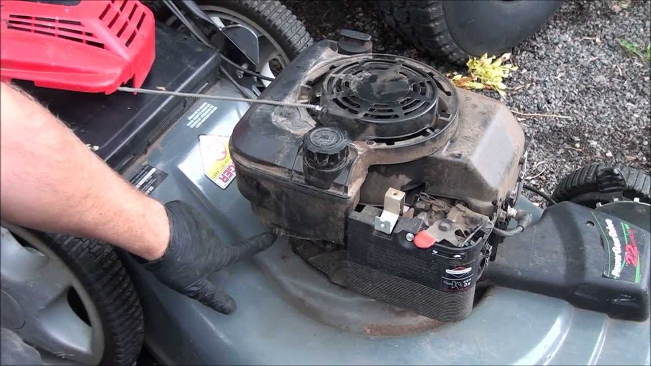 Easy How To Fix A Briggs And Stratton Lawnmower Starter Pull Rope Youtube Briggs Stratton Lawn Mower Repair Lawn Mower