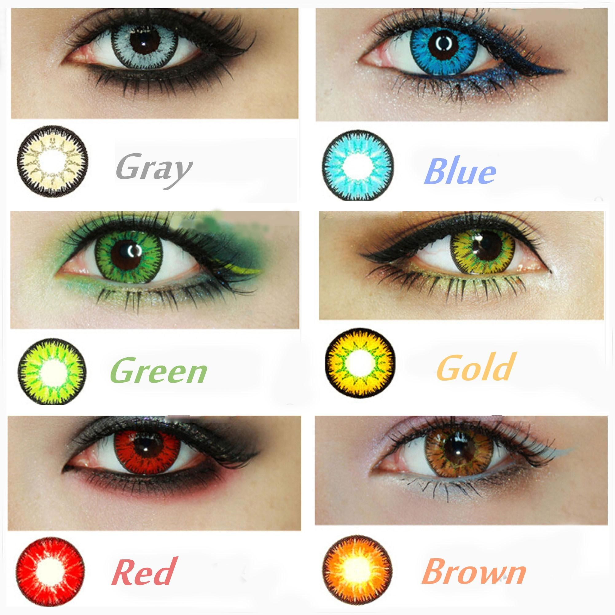 Find The Qualified Candyvision 7 Colors In Stock Crazy Lenses Colorful Cosmetic Contact Len Contact Lenses Colored Cosmetic Contact Lenses Colored Eye Contacts
