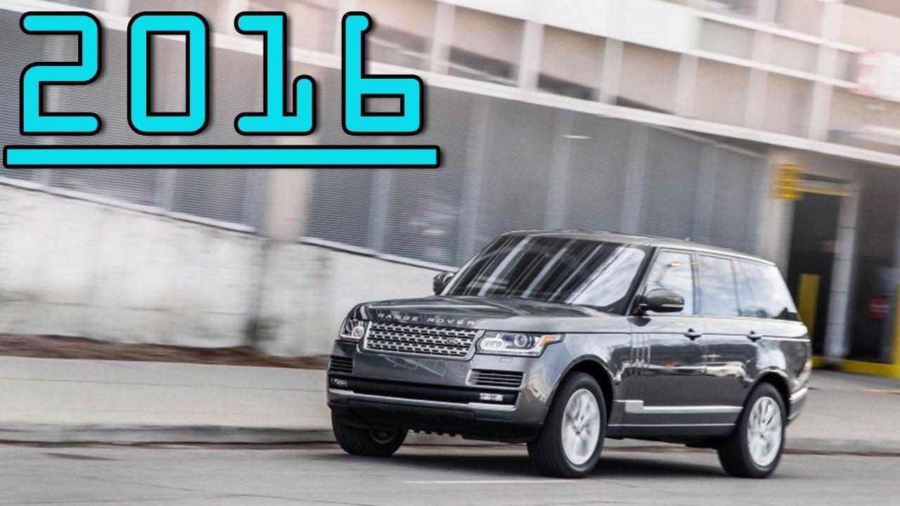 2016 Land Rover Range Rover Td6 Diesel 3.0L V6 AWD 8 Speed