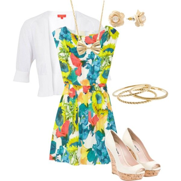 Floral, created by kledson97 on Polyvore