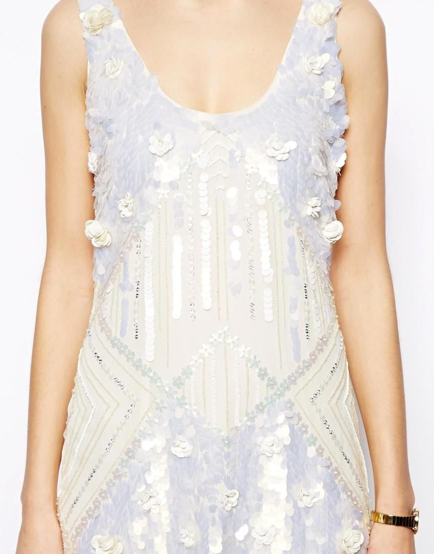 ASOS | ASOS Amazing Embellished Shift Dress at ASOS