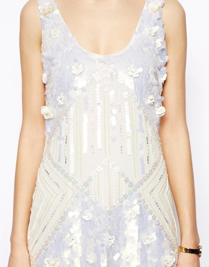 ASOS | ASOS Amazing Embellished Shift Dress at ASOS