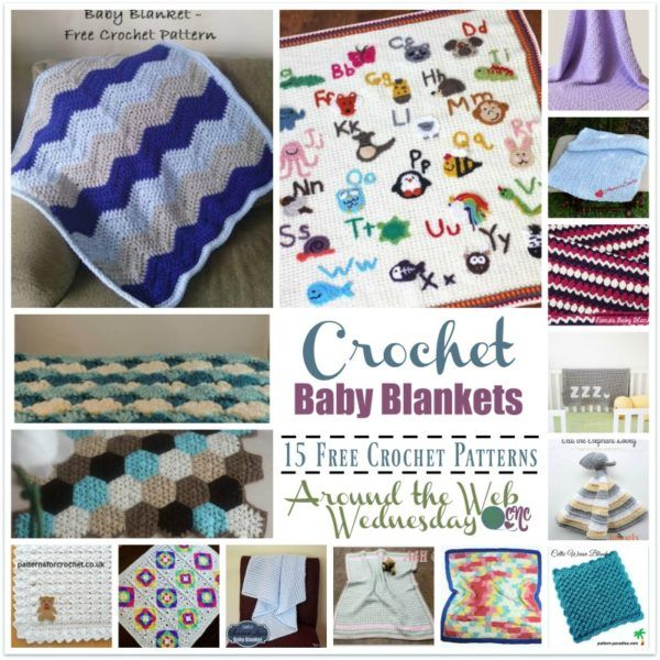 Crochet Baby Blankets ~ 15 FREE Crochet Patterns | Facebook Friends ...